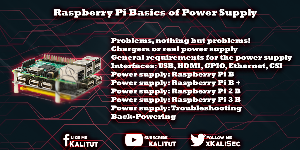 Raspberry Pi Basics of Power Supply