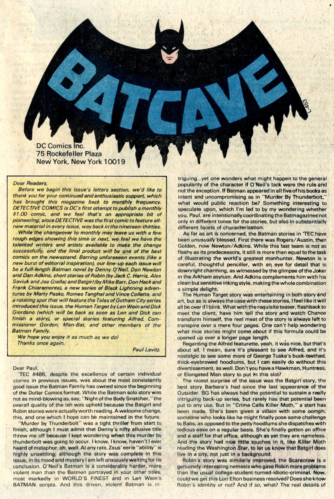 Detective Comics (1937) 489 Page 40