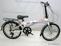 1 Sepeda Lipat ELEMENT COBRA ALLOY 20 Inci