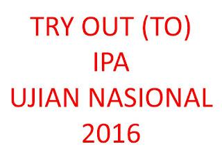 Try Out Ujian Nasional 2016