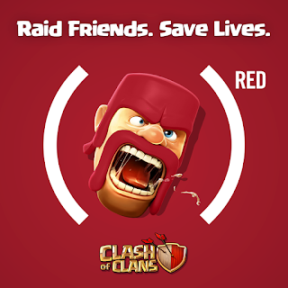 Clash of of Clans red