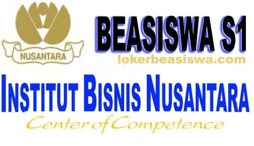 Beasiswa S1 Institut Bisnis Nusantara (IBN) Tahun 2018-2019