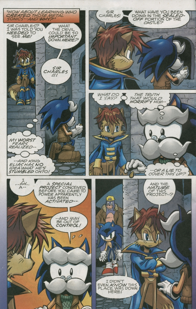 Read online Sonic The Hedgehog comic -  Issue #158 - 14