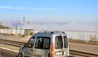 Sis Çöken İstanbul Görüntüsü Video İzle