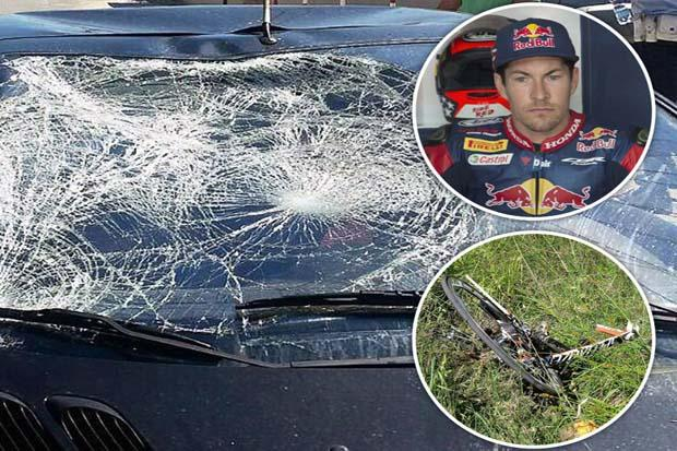 Ditabrak mobil saat bersepeda, hingga kini kondisi Nicky Hayden masih kritis