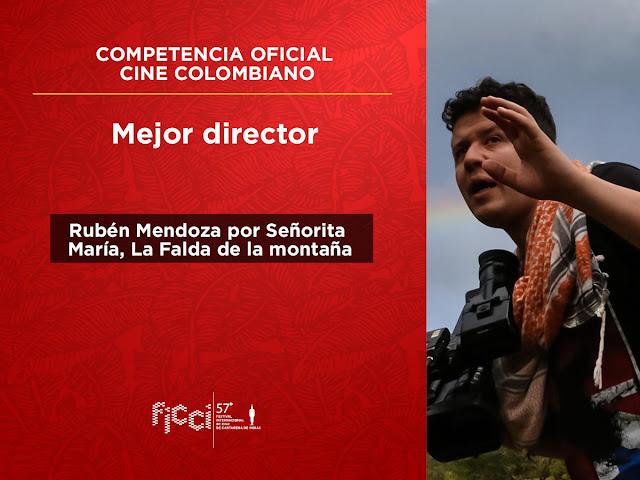 Mejor director competencia cine colombiano
