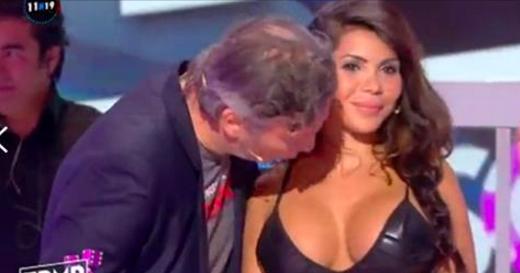 Soraya, la femme embrassée sur la poitrine, dévoile des messages privés de Jean-Michel Maire: