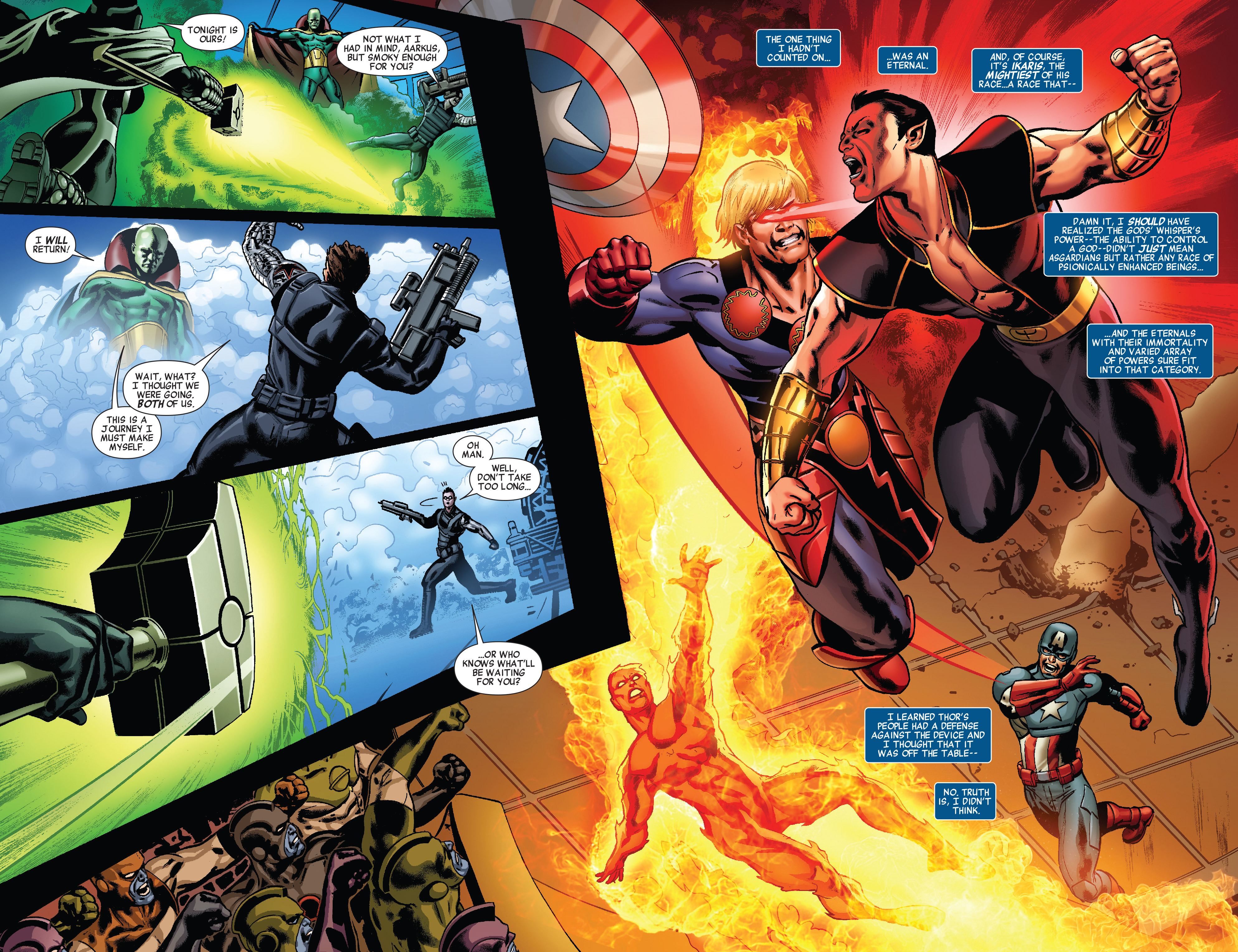 Read online All-New Invaders comic -  Issue #5 - 5