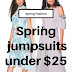 Spring Style: Jumpsuits - Under $25