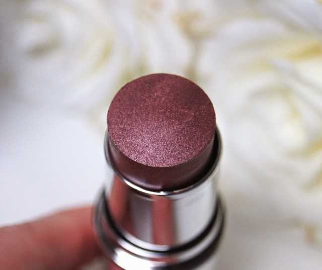 & other stories total tint sticks tinsel plum review swatch