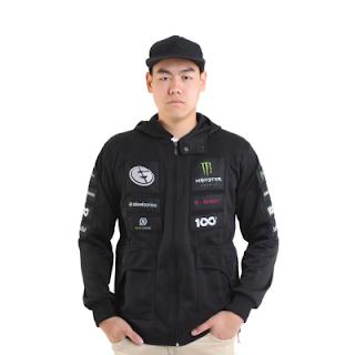 Jaket Gaming - Jacket Team Evil Genius