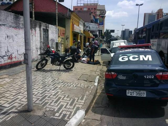 Guarda Civil de Santo André recupera carga roubada e prende dois elementos com auxílio do videomonitoramento