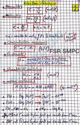 résumé chimie en solution smpc s2