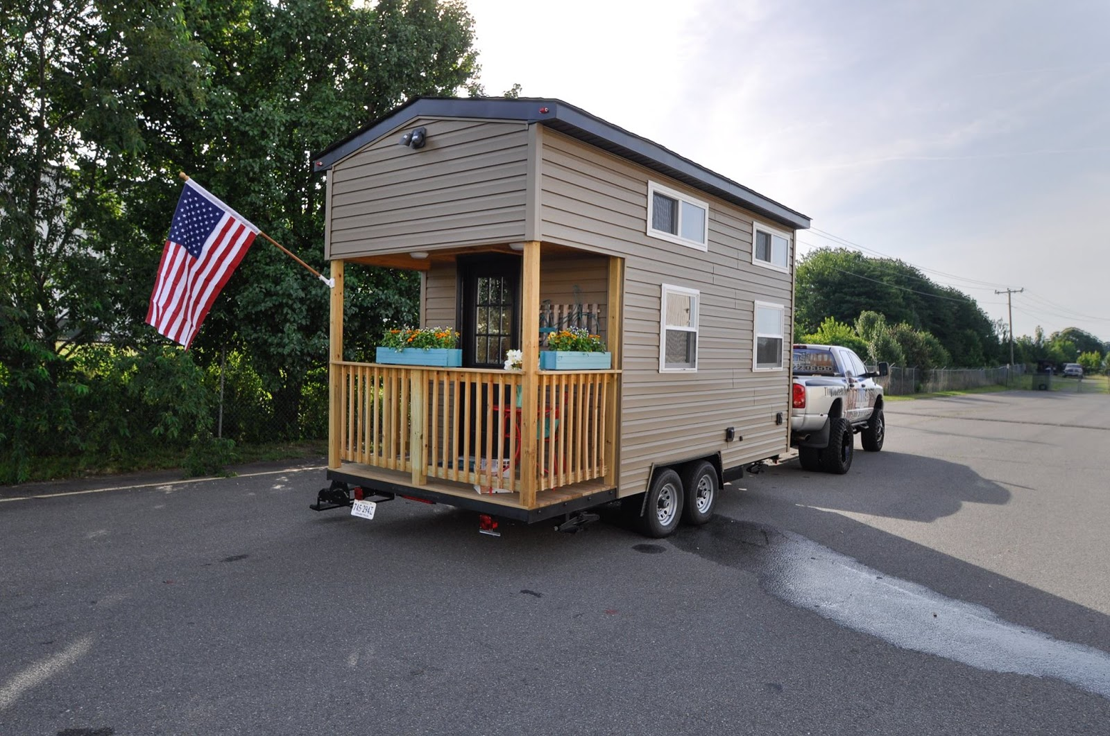 For more information on this tiny home model contact tiny house building company here