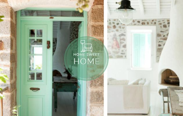 Ένα ονειρεμένο σπίτι παραδοσιακής αρχιτεκτονικής στην Μυτιλήνη