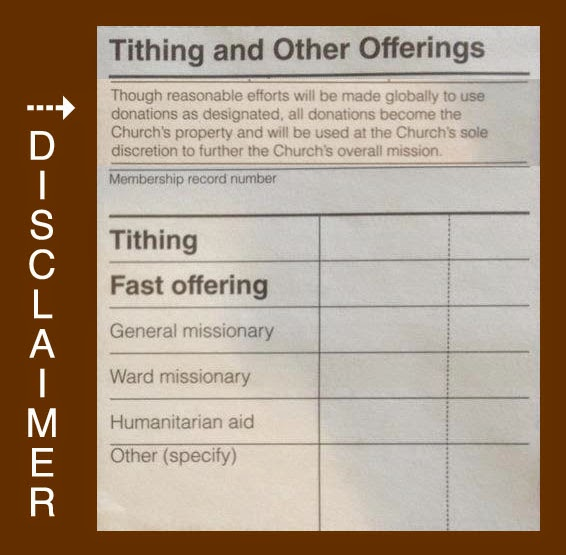 Great tithing stories