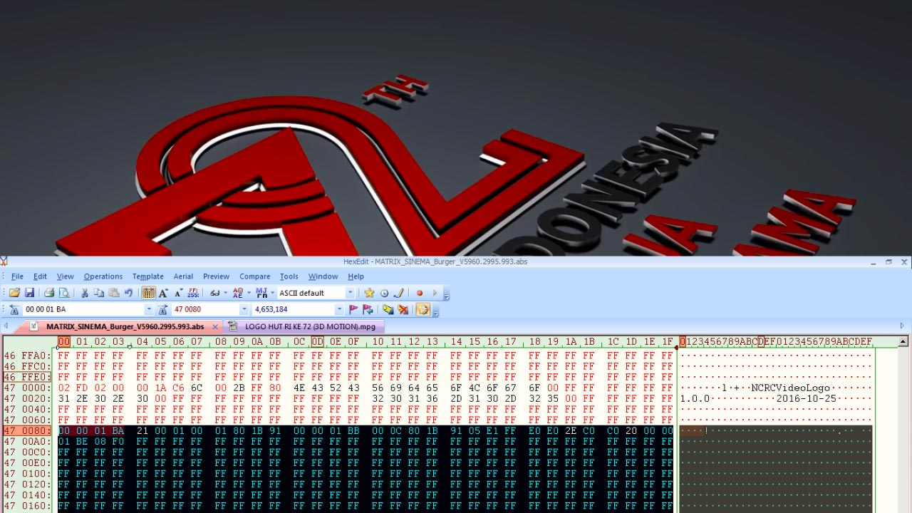 Cara Mengganti Video Boot Logo Receiver Matrix Sinema