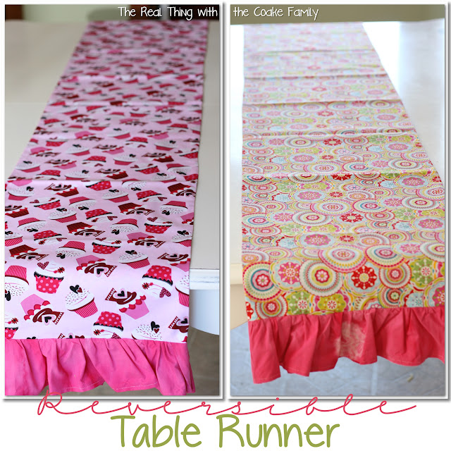 Table Runner Free Sewing Pattern