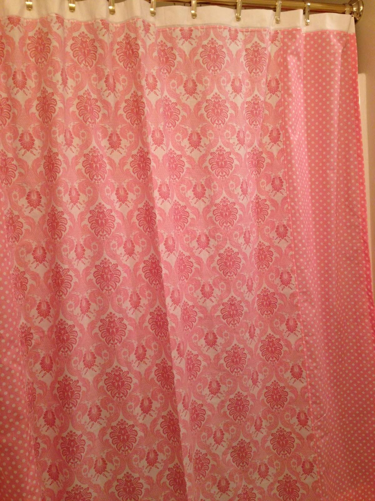 E Craft Classes Blog Free Split Panel Shower Curtain Tutorial