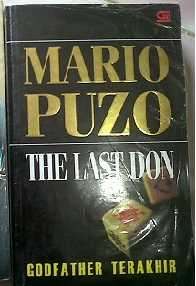 Novel Godfather Terakhir by Mario Puzo