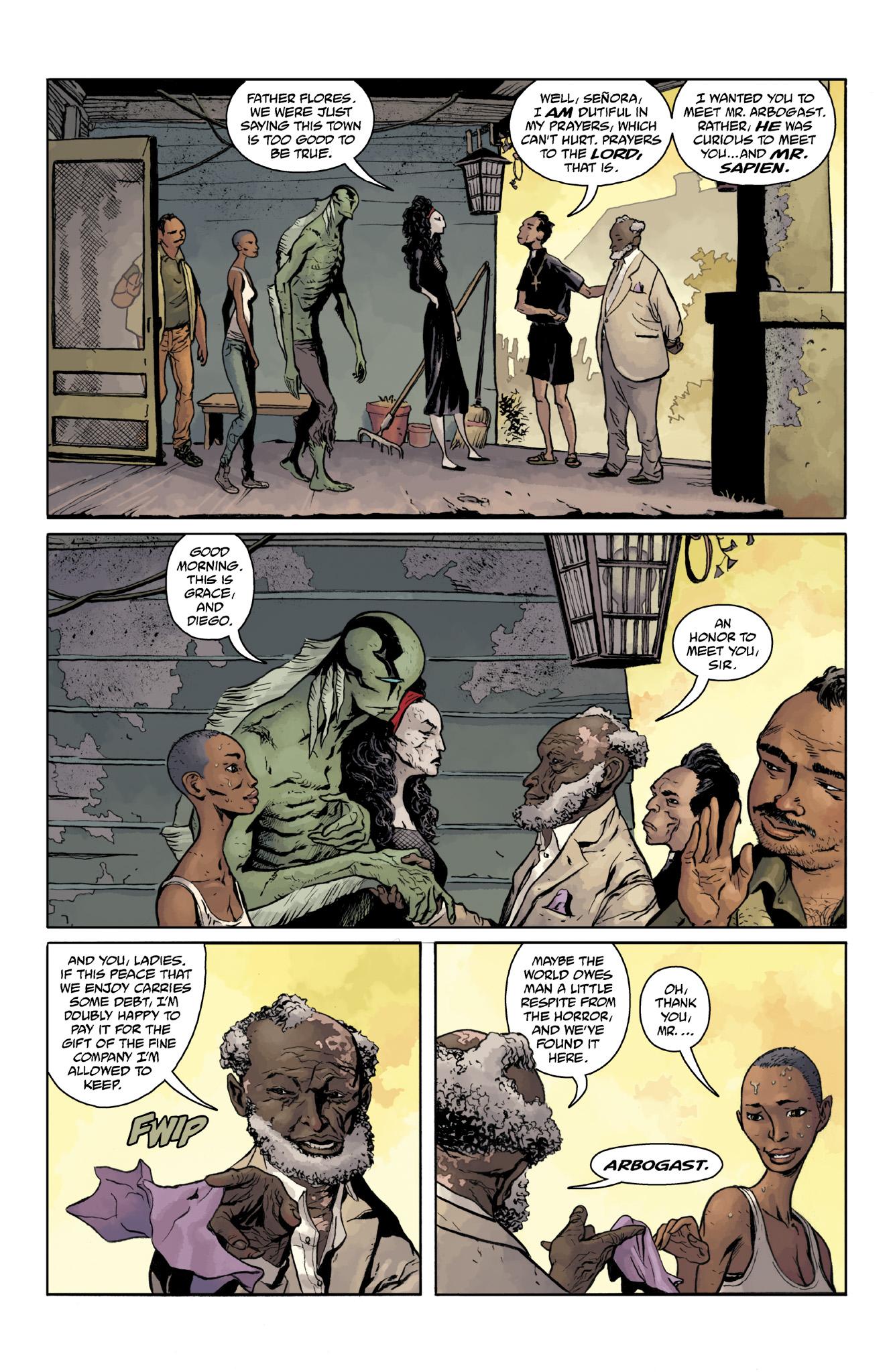 Read online Abe Sapien comic -  Issue #18 - 8