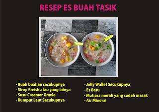 Resep Es Buah Tasik Ommasakom.blogspot.com