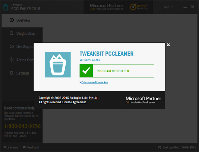 TweakBit PCCleaner full version crack