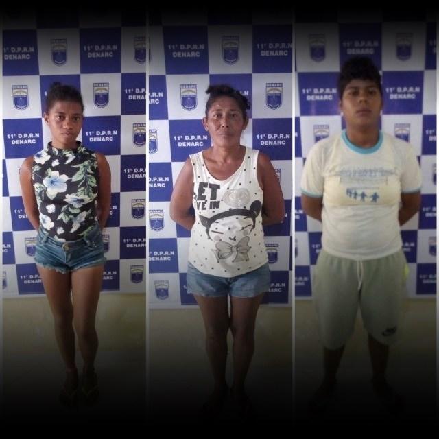 Ouricuri-Três mulheres são presas com 41 gramas de crack em Ouricuri, PE