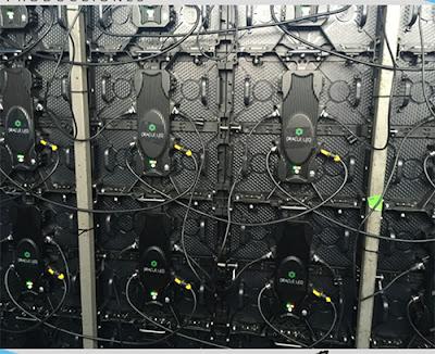Lắp đặt thi công màn hình led p4 cabinet giá rẻ tại Hà Nam