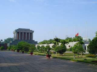 Ho Chi Minh Mausoleum. Hanoi (Vietnam)