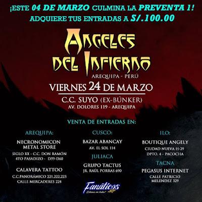 Ángeles del Infierno en Arequipa