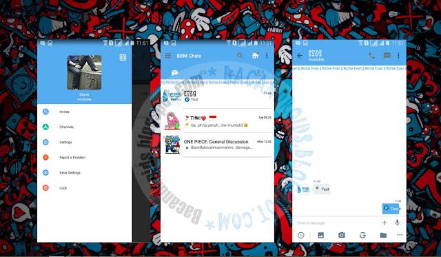 download BBM2 Mod Thema Twitter Apk Versi Terbaru