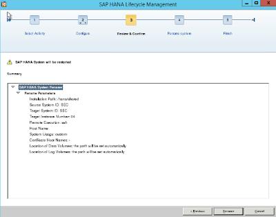 SAP HANA Host Name