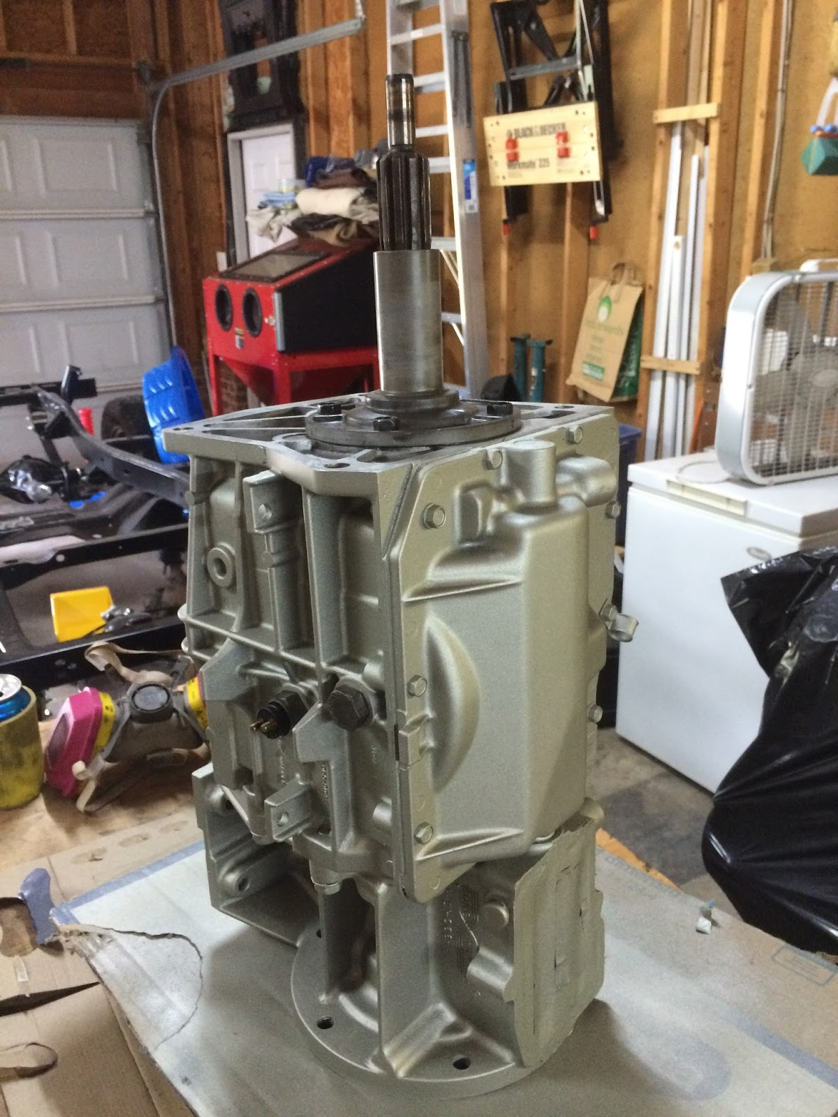 T4 Borg Warner Transmission Rebuild (Assembly) | 1983 CJ7