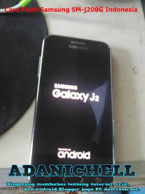 Cara Flash Samsung SM-j200G Indonesia