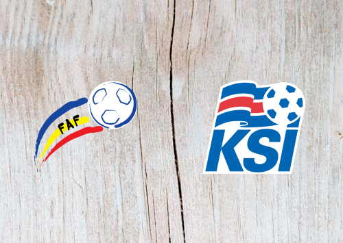 Andorra vs Iceland - Highlights 22 March 2019