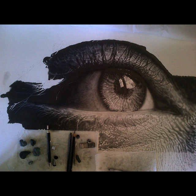 09-Eye Perspective-WIP-Jono-Dry-Eyes-and-other-Black-and-White-Graphite-Realistic-Drawings-www-designstack-co