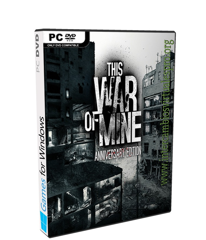 This War of Mine Anniversary Edition poster box cover