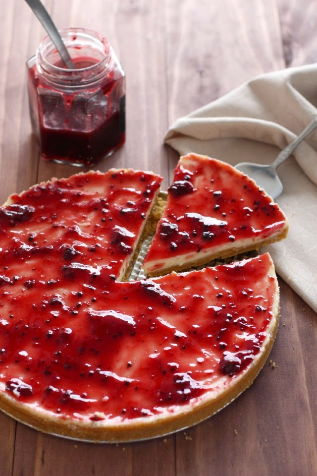 cheesecake de yogurt paso a paso