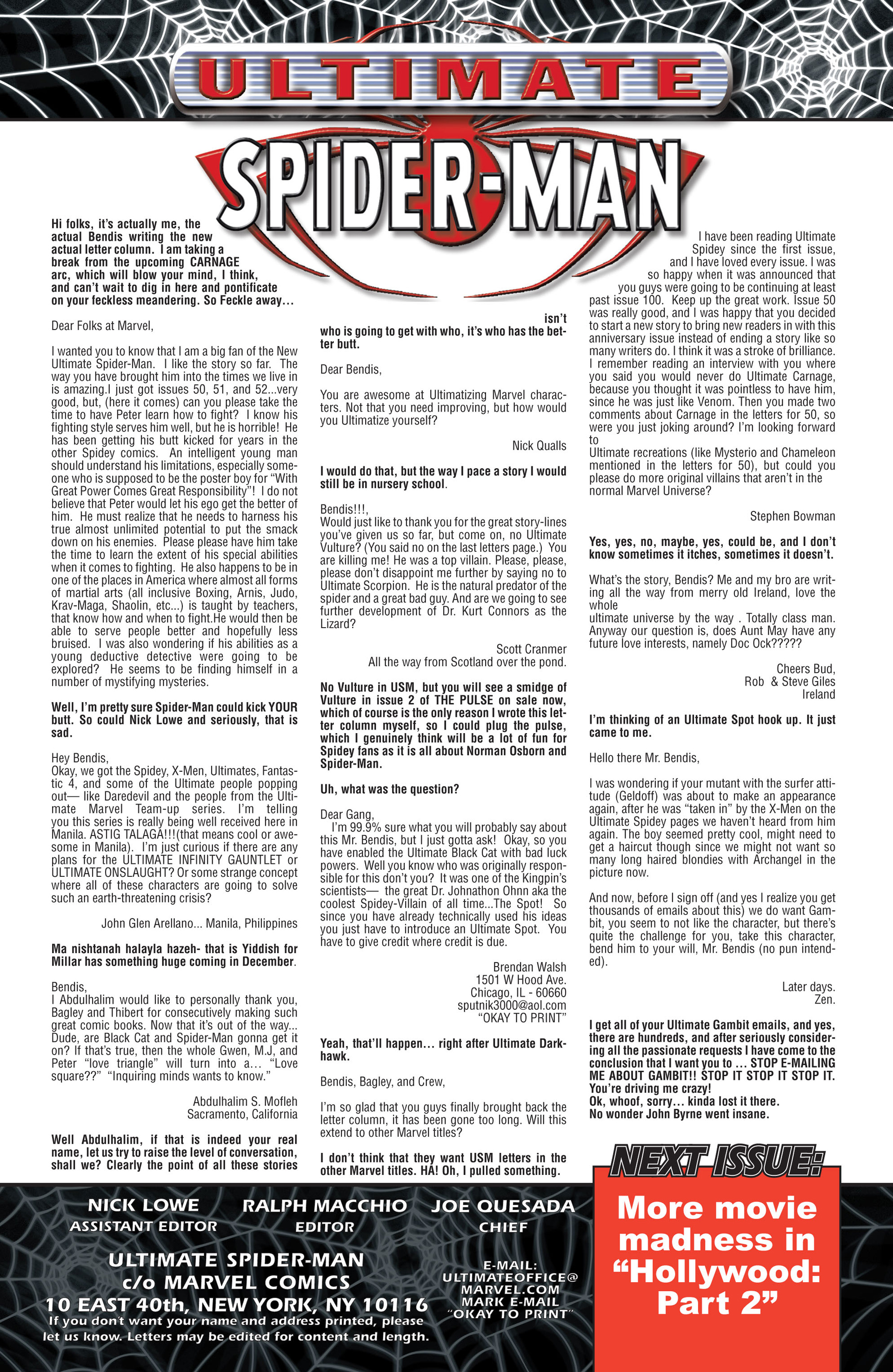 Read online Ultimate Spider-Man (2000) comic -  Issue #54 - 22