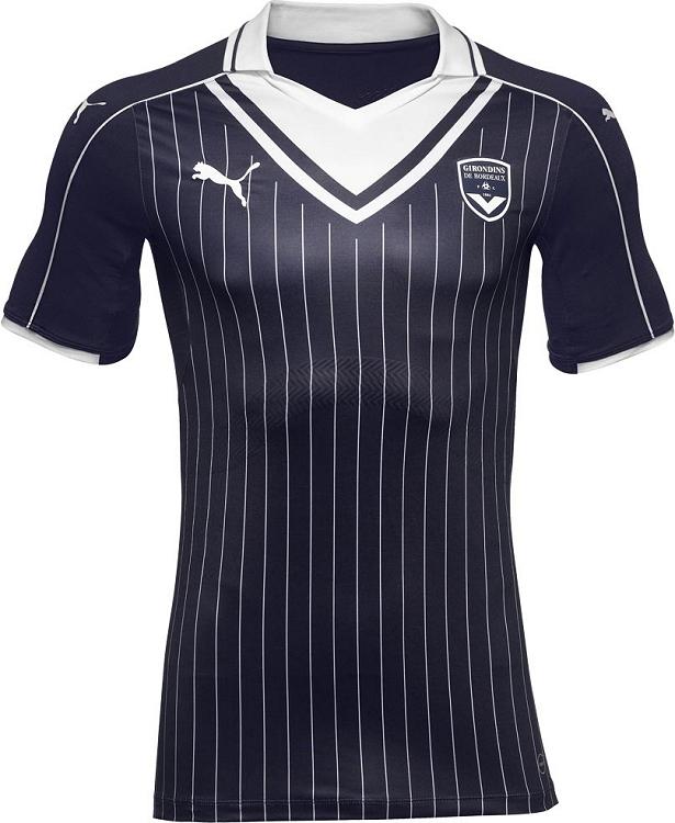 Puma divulga nova camisa titular do Bordeaux - Show de Camisas 8336e108d812e