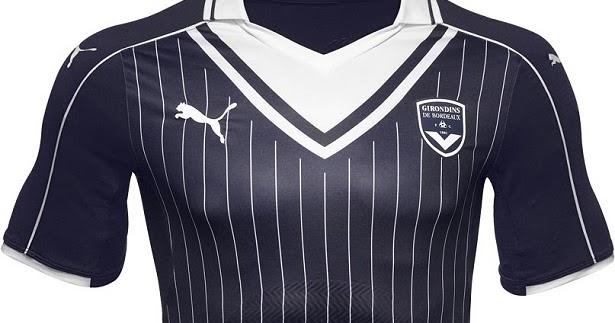 Puma divulga nova camisa titular do Bordeaux - Testando Novo Site 6b363ddc0c2ce
