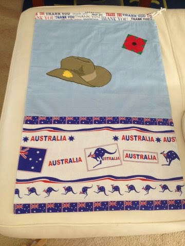 Aussie Hero Quilts (and laundry bags): April 2014