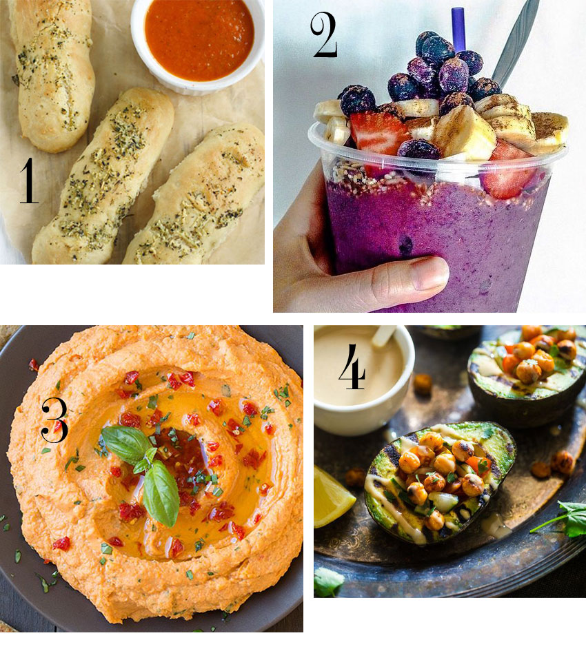 March vegan healthy food favorites