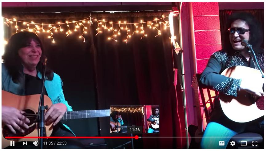 VIDEO: Gene Simmons & Vinnie Vincent at the Nashville Vault Event