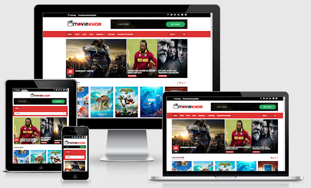 Download MovieKhor Blogger Template Full Redesign
