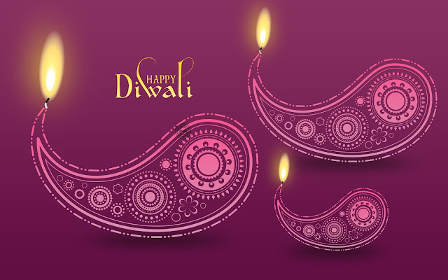 3d diwali wallpaper