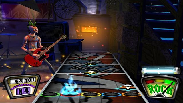 jogar guitar hero 1