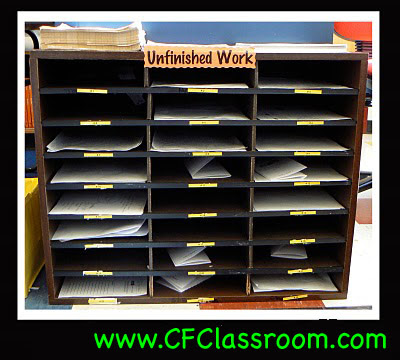 Check out these simple elementary classroom organization and management strategies about unfinished work and student assignments that are a work in progress. Try out the must do may do procedure and unfinished work boxes, binders, and folders strategies and routines. No more messy desks for your kids!