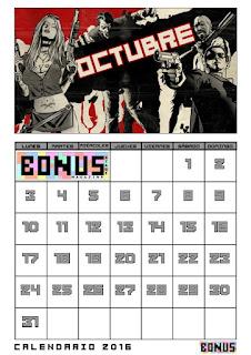 Bonus Stage Magazine: Calendario 2016